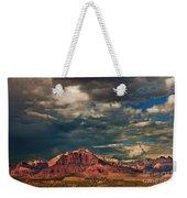 Summer Storm Zion National Park Utah Weekender Tote Bag