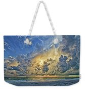 Summer Storms In The Gulf Weekender Tote Bag