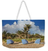 Summer Stripes Weekender Tote Bag