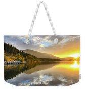 Summer Sunrise Weekender Tote Bag