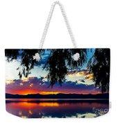 Sunset At Agency Lake, Oregon Weekender Tote Bag