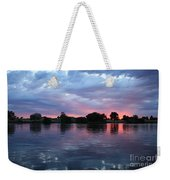 Summer Sunset On Yakima River 4 Weekender Tote Bag