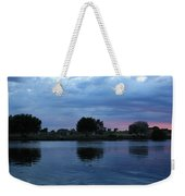 Summer Sunset On Yakima River 5 Weekender Tote Bag