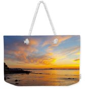 Summer Sunset Over Ipswich Bay Weekender Tote Bag