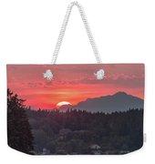 Summer Sunset Over Yukon Harbor.4 Weekender Tote Bag