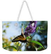 Summer Swallowtail Weekender Tote Bag
