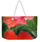 Summer Time Beauties - Hibiscus - Dora Sofia Caputo Weekender Tote Bag