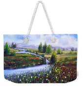 Summer Time Weekender Tote Bag