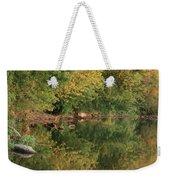 Summer Trees Sunset Weekender Tote Bag