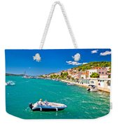Summer View Of Tisno Coast Weekender Tote Bag
