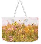 Summer Wildflower Field Of Sunflowers Weekender Tote Bag