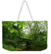 Summer Woodland And The Patapsco River Maryland Weekender Tote Bag