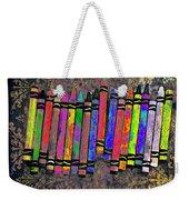 Summer's Crayon Love Weekender Tote Bag