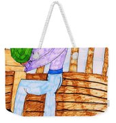 Summers Lunch Weekender Tote Bag