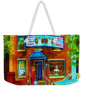 Summers With Mom At Fairmount Weekender Tote Bag
