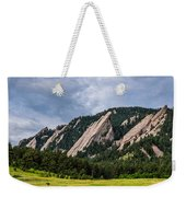 Summertime At The Flatirons Weekender Tote Bag