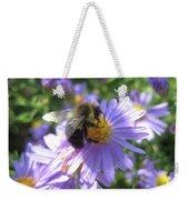 Summertime Bee Weekender Tote Bag