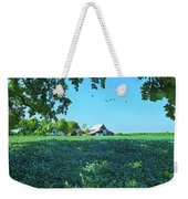 Summertime Blues Weekender Tote Bag