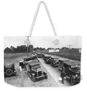 Summertime Country Traffic Jam Weekender Tote Bag