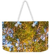 Summertime Tree Weekender Tote Bag