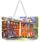 Summery Afternoon Sunshine At The Courthouse Weekender Tote Bag