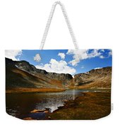 Summit Lake Colorado Weekender Tote Bag