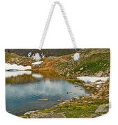 Summit Lake Study 5 Weekender Tote Bag