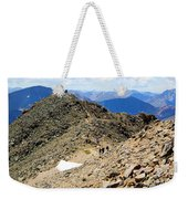 Summit On Mount Massive Summit Weekender Tote Bag
