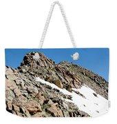 Summiting The Mount Massive Summit Weekender Tote Bag