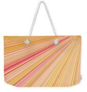 Sun Abstract Weekender Tote Bag