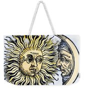 Sun And Moon, 1493 Weekender Tote Bag