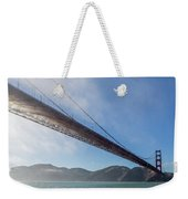 Sun Beams Through The Golden Gate Weekender Tote Bag by Scott Campbell