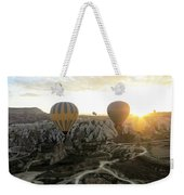 Sun Breaks The Horizon Weekender Tote Bag