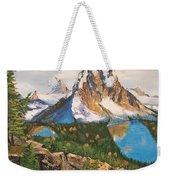 Sun Burst Peak Canada  Weekender Tote Bag