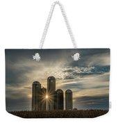 Sun Burst Silos Weekender Tote Bag