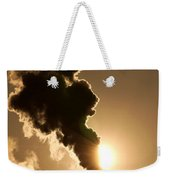 Sun Covered With Soot - Air Pollution Weekender Tote Bag