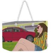 Sun Days Weekender Tote Bag