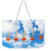 Sun Dried Tomatoes Weekender Tote Bag