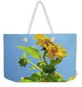 Sun Flower Artwork Sunflower 5 Giclee Art Prints Baslee Troutman Weekender Tote Bag