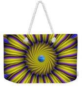 Sun Flower Weekender Tote Bag by Bobby Hammerstone