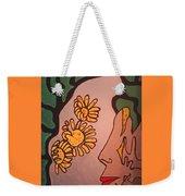 Sun Flower Conection Weekender Tote Bag
