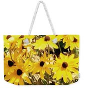 Sun Flower Glory Weekender Tote Bag