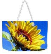 Sun Flower - Id 16235-142812-7136 Weekender Tote Bag