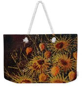 Sun Flowers And Physialis  Weekender Tote Bag
