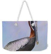 Sun Glow Pelican Weekender Tote Bag