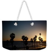 Sun Going Down In California Weekender Tote Bag