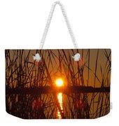Sun In Reeds Weekender Tote Bag