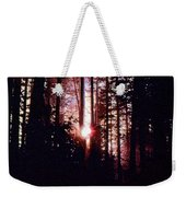 Sun In The Forest Two  Weekender Tote Bag