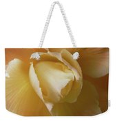 Sun Kissed Begonia Flower Weekender Tote Bag