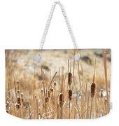 Sun Kissed Cattails - Casper Wyoming Weekender Tote Bag